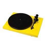 Pro-Ject Debut Carbon DC Phono USB (OM 10) Yellow Gloss