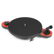 Pro-Ject Elemental Phono USB (OM 5E) Red/Black, Витринный образец