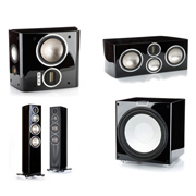 Monitor Audio GX300, GXC350, GXFX, GXW-15 High Gloss Black