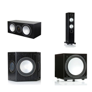 Monitor Audio Silver 6, Silver Centre, Silver FX, Silver W12 Black Oak