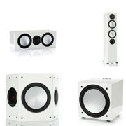 Monitor Audio Silver 10, Silver Centre, Silver FX, Silver W12 High Gloss White