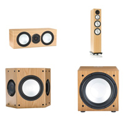 Monitor Audio Silver 10, Silver Centre, Silver FX, Silver W12 Natural Oak