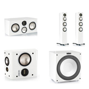 Monitor Audio GX200, GXC350, GXFX, GXW-15 High Gloss White