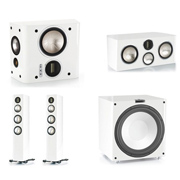Monitor Audio GX300, GXC350, GXFX, GXW-15 High Gloss White