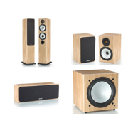Monitor Audio BX5, BX Centre, BX1, BXW-10 Natural Oak