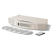 Bose Acoustic Wave System II 5-CD Changer White