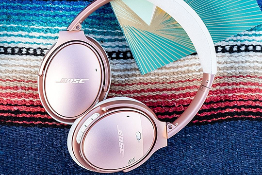 Bose QuietComfort 35 II в цвете Rose Gold уже в продаже!