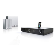 Loewe Home Cinema Set Chrome Silver