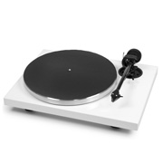Pro-Ject Pro-Ject Audio 1-Xpression Carbon Classic  (2M-Silver) White Gloss