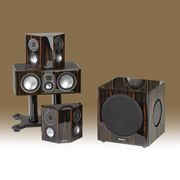 Monitor Audio BX2, BX Centre, BX1, BXW-10 Black