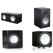 Monitor Audio Silver 2, Silver Centre, Silver FX, Silver W12 Black Oak