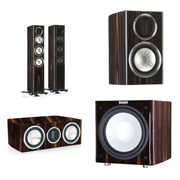 Monitor Audio GX200, GXC150, GX50, GXW-15 Piano Ebony
