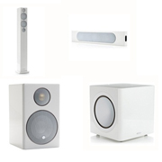 Monitor Audio Radius 270, Radius One, Radius 90, Radius 390 High Gloss White