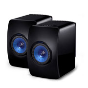 KEF LS50 Wireless Gloss Black/ Blue