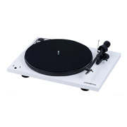 Pro-Ject Essential III RecordMaster White Gloss