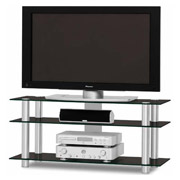 Just-Racks TV1203 AL-BG Aluminium - Black
