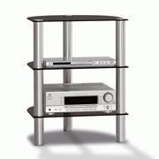 Just-Racks R590-AL-BG Aluminium - Black